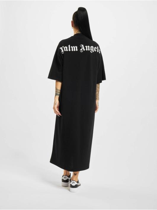 Palm Angels Šaty Logo Over Tee èierna