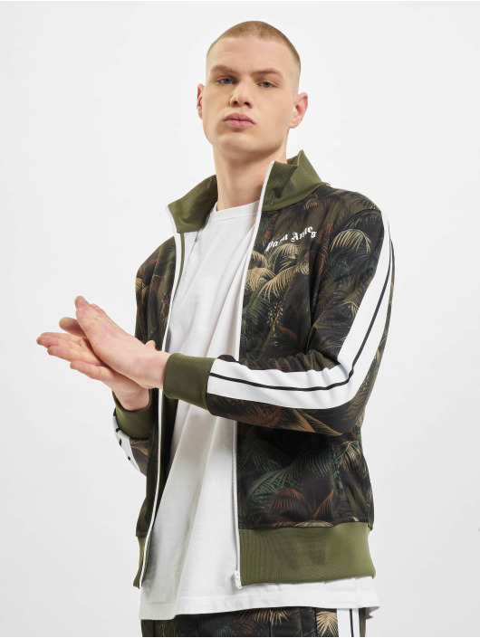 Palm Angels Демисезонная куртка Jungle Classic камуфляж
