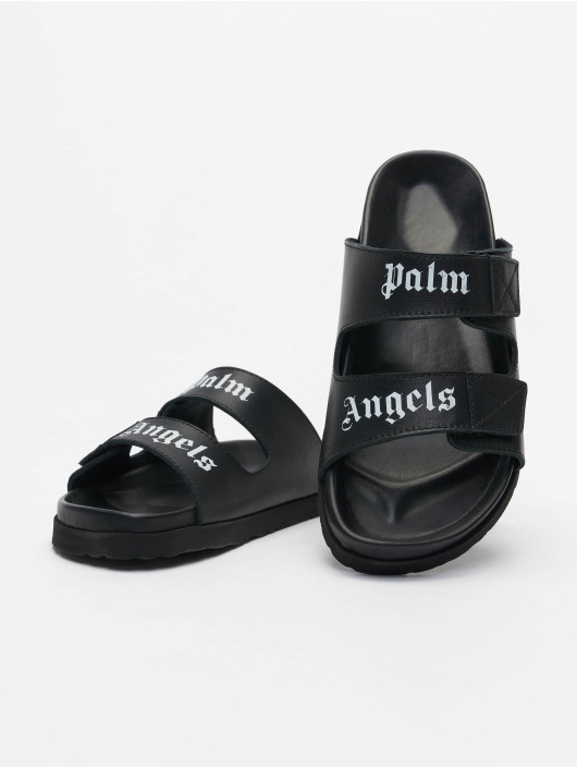 Palm Angels Шлёпанцы Logo черный