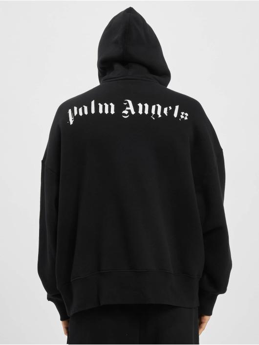 Palm Angels Bluzy z kapturem Skull czarny
