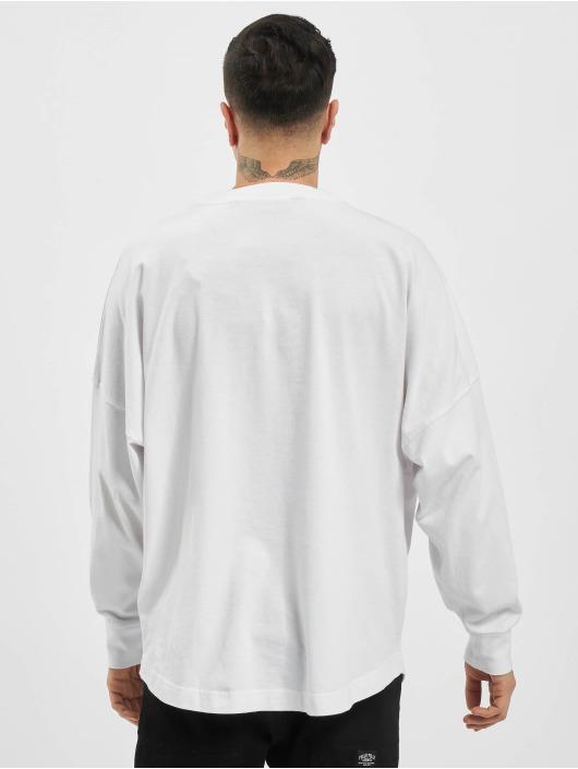 Palm Angels Camiseta de manga larga Desert Overlogo blanco