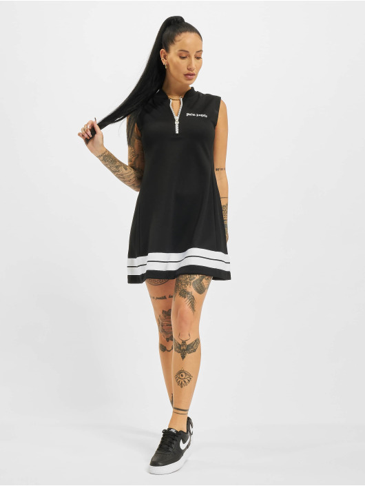 Palm Angels Dress A-Line Track black