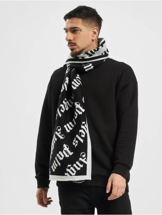 Palm Angels Halstørklæder/Tørklæder Monogram sort