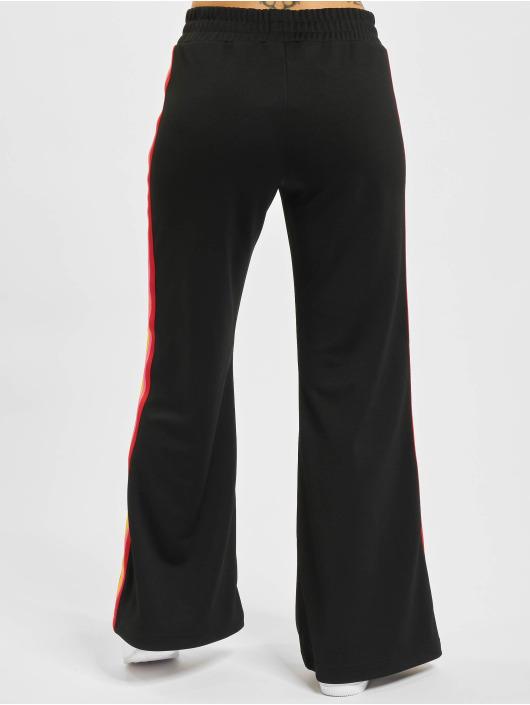 Palm Angels Jogging kalhoty Miami Logo Wide čern