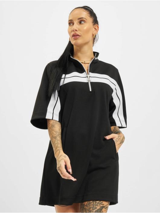 Palm Angels Kleid Zipped Track schwarz