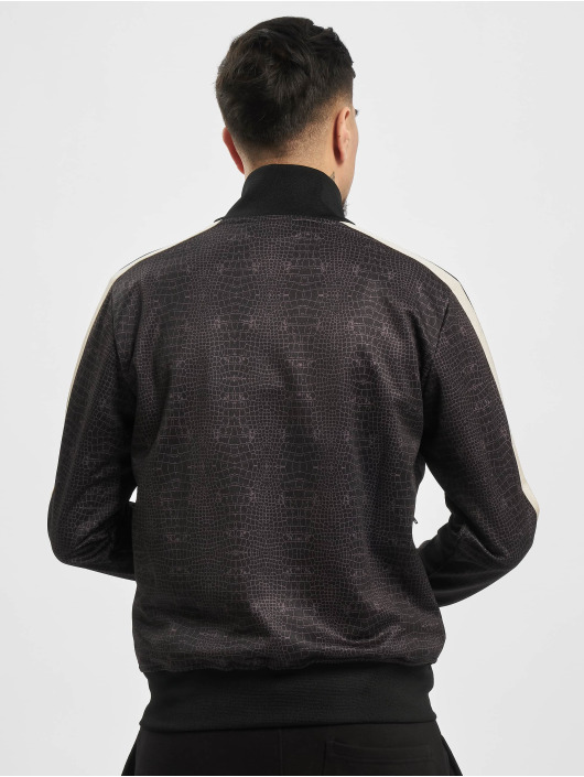 Palm Angels Lightweight Jacket Croco black