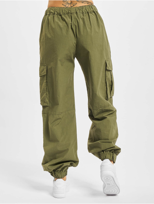 Palm Angels Pantalone Cargo Ultralight verde