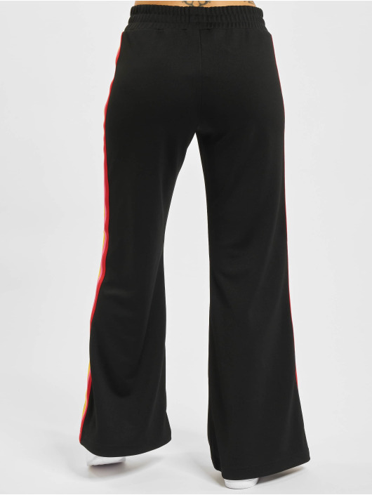 Palm Angels Pantalone ginnico Miami Logo Wide nero
