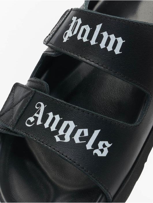 Palm Angels Sandals Logo black