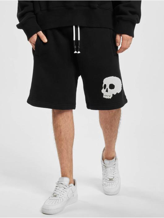 Palm Angels shorts Skull zwart