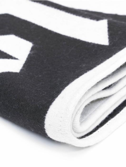 Palm Angels sjaal Logo Knitted zwart