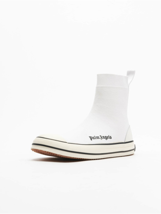 Palm Angels Sneaker Knitted Sock bianco
