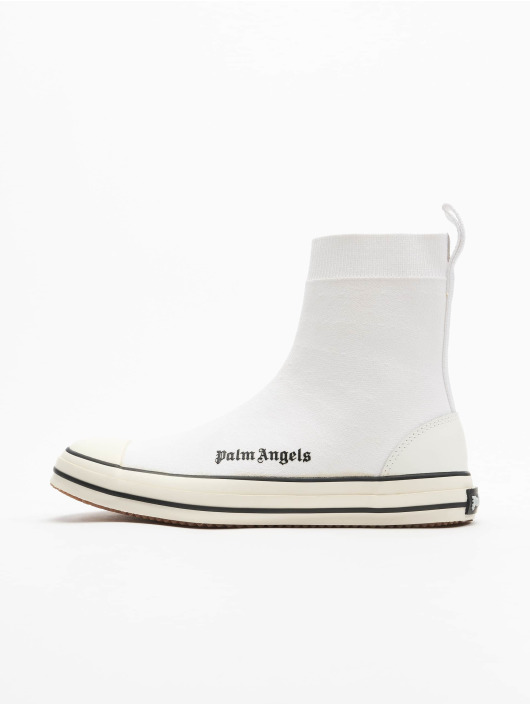 Palm Angels Sneakers Knitted Sock bialy