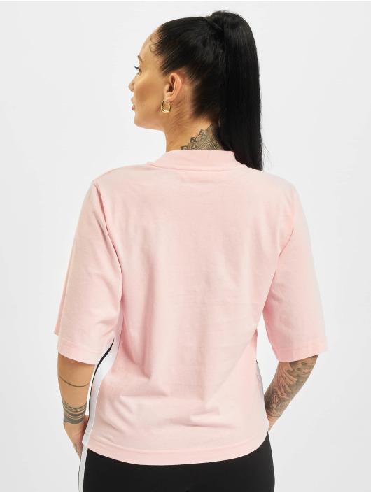 Palm Angels T-shirt Classic Logo rosa chiaro