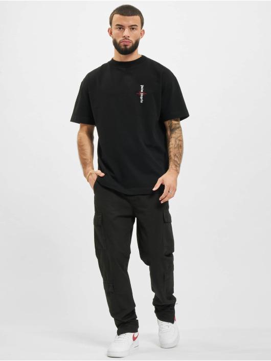 Palm Angels T-Shirt Statement Logo schwarz
