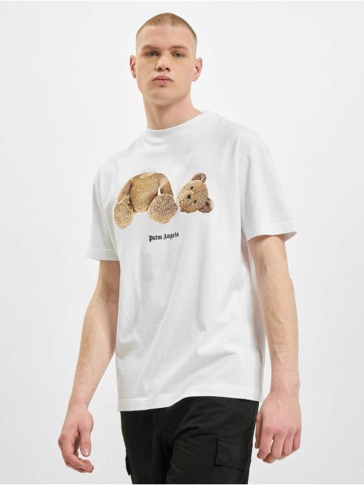 Palm Angels T-shirt Bear Classic vit
