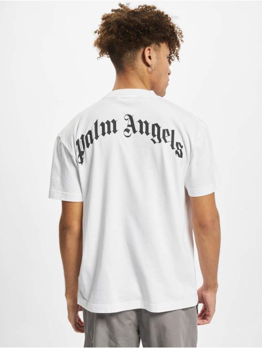 Palm Angels T-shirts Pa Bear Classic hvid