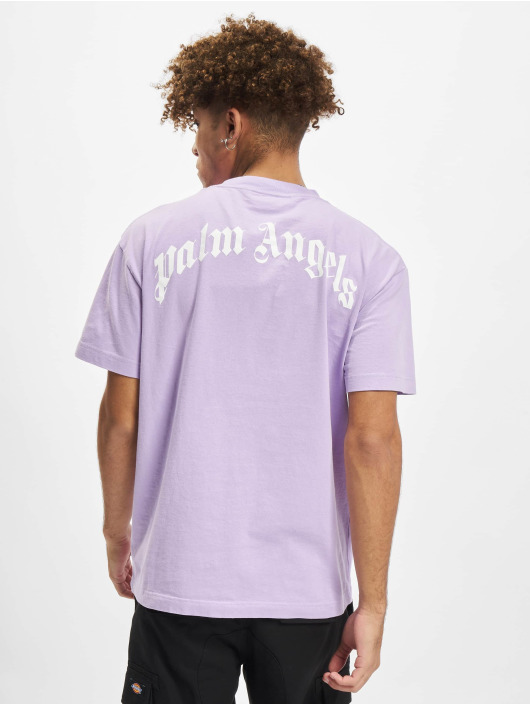Palm Angels T-Shirty Pa Bear Classic fioletowy