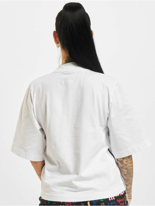 Palm Angels T-skjorter Classic Logo hvit