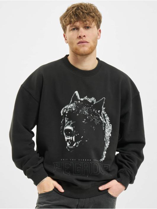 PEGADOR Пуловер Oregon Oversized черный