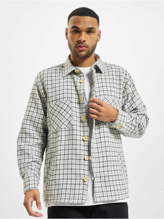 PEGADOR Рубашка Flato Heavy Flannel серый