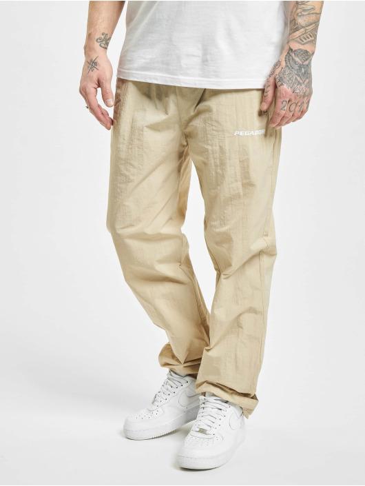 PEGADOR Спортивные брюки Shadow Wide бежевый