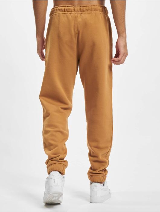 PEGADOR Спортивные брюки Logo Heavy коричневый