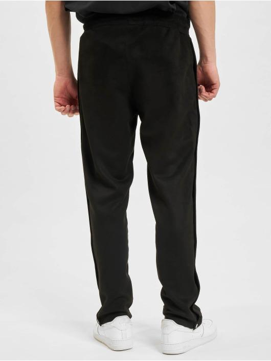 PEGADOR Спортивные брюки Suede Button черный