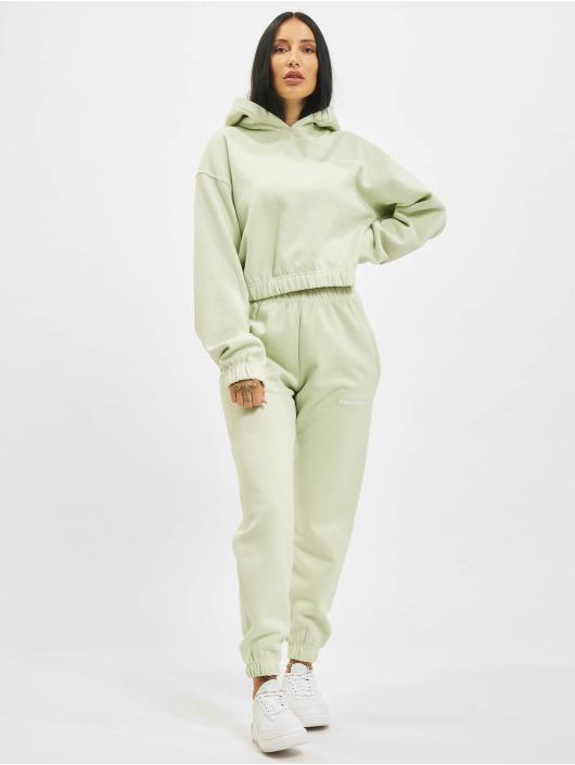 PEGADOR Bluzy z kapturem Kim Oversized Cropped zielony