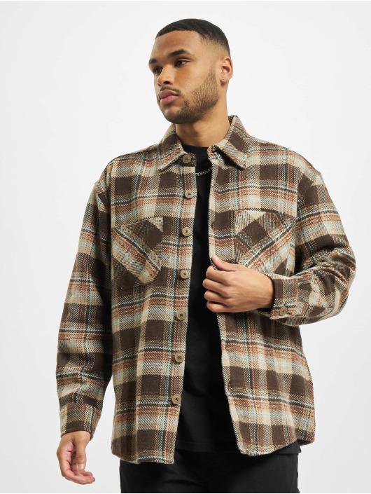 PEGADOR Camicia Delta Heavy Flannel marrone