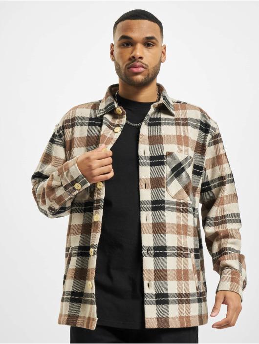 PEGADOR Camisa Flato Heavy Flannel marrón