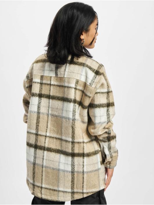 PEGADOR Camisa Goleta Heavy Hairy Flannel marrón