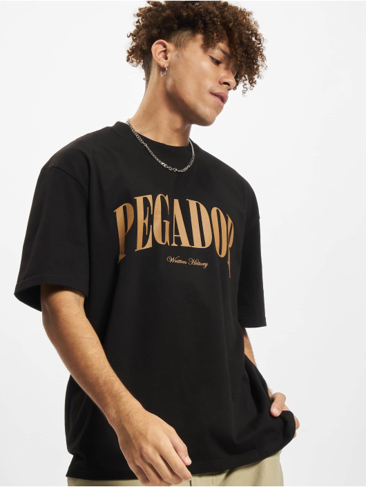 PEGADOR Camiseta Cali Oversized amarillo