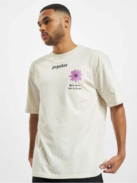PEGADOR Camiseta Dakota Oversized blanco