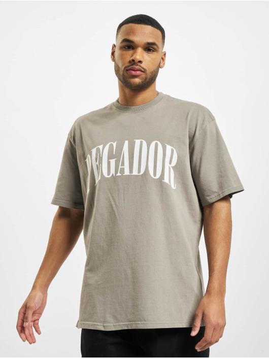 PEGADOR Camiseta Cali Oversized gris