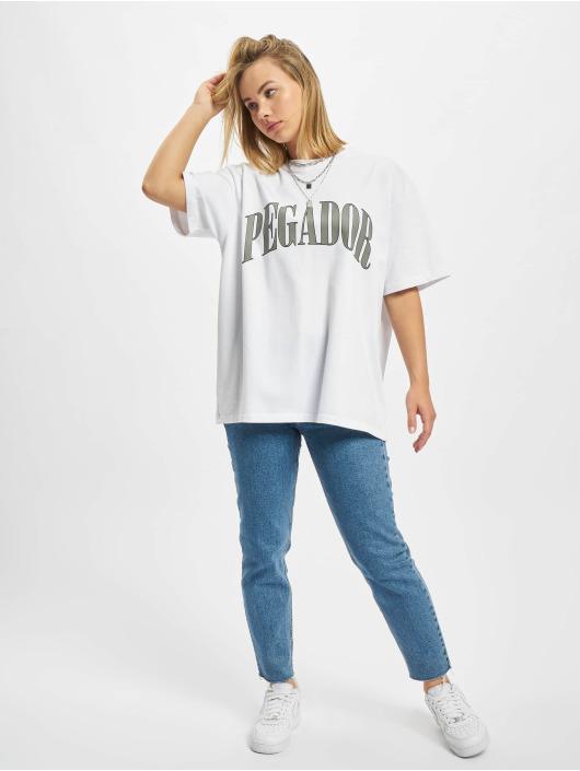 PEGADOR Camiseta Marino Oversized gris