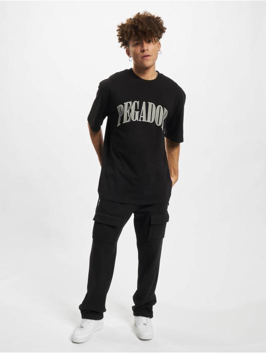 PEGADOR Camiseta Cali Oversized negro