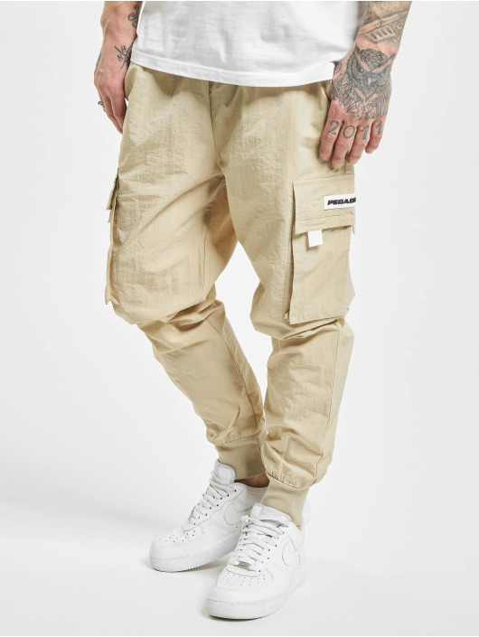 PEGADOR Cargo pants Reno Woven béžový