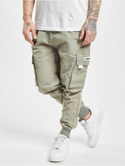 PEGADOR Cargo pants Reno Woven hnědožlutý