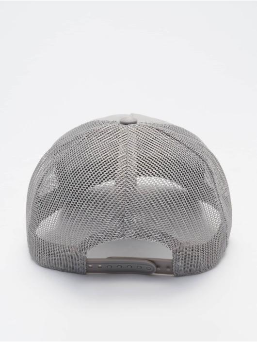 PEGADOR Casquette Trucker mesh Cursive Suede gris