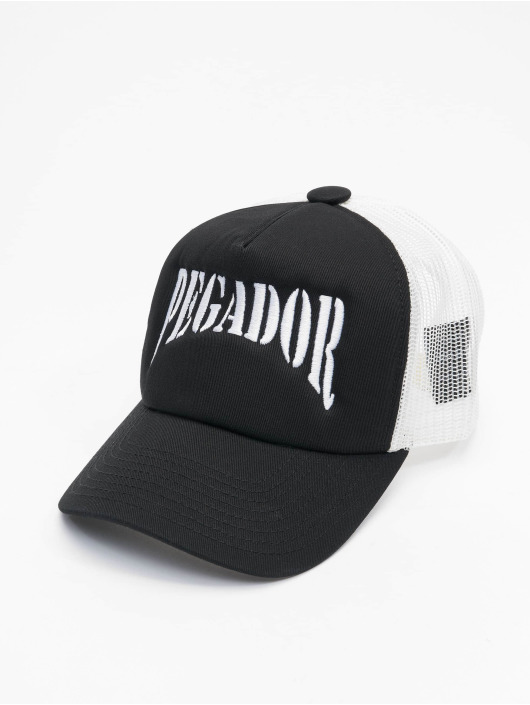 PEGADOR Casquette Trucker mesh Sonny noir