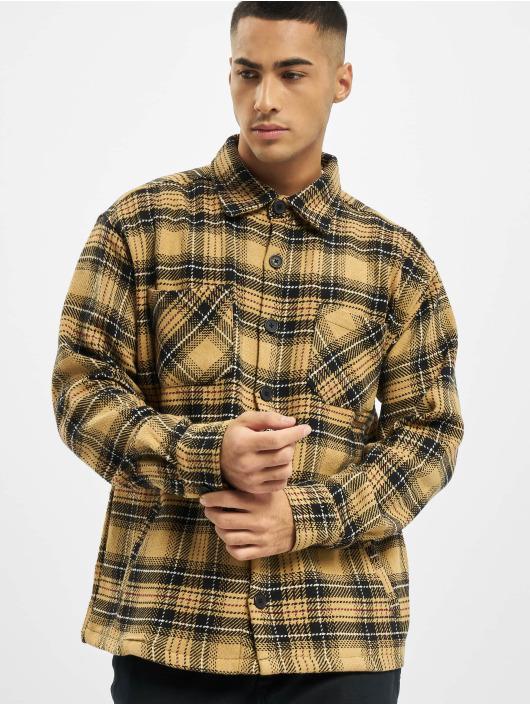 PEGADOR Chemise Flato Heavy Flannel beige