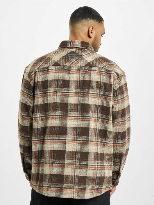 PEGADOR Chemise Delta Heavy Flannel brun