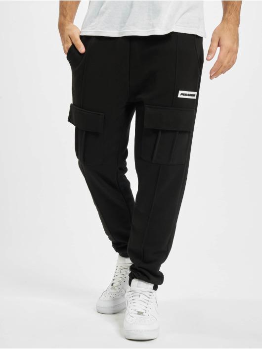 PEGADOR Chino bukser Berno Front Pocket svart