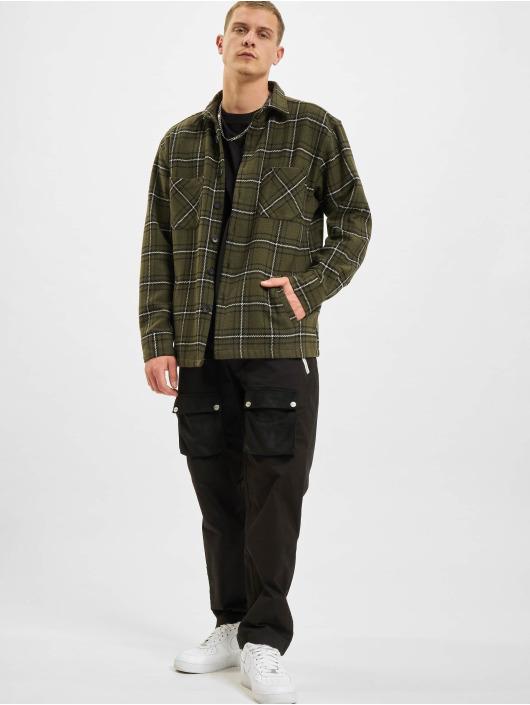 PEGADOR Chino bukser Punch Front Pocket svart