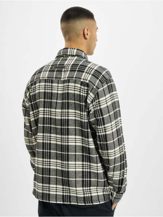 PEGADOR Hemd Flato Heavy Flannel weiß