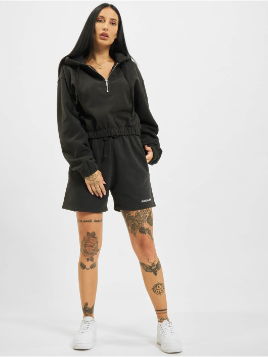 PEGADOR Hoodie Nicki Oversized Cropped black