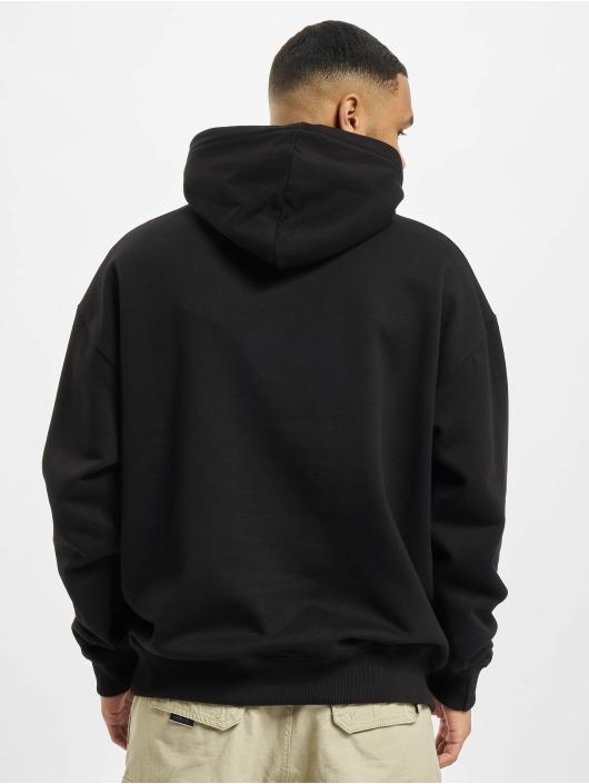 PEGADOR Hoodies Heavy Oversized čern