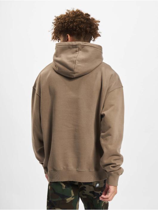 PEGADOR Hoodies Logo Oversized brun