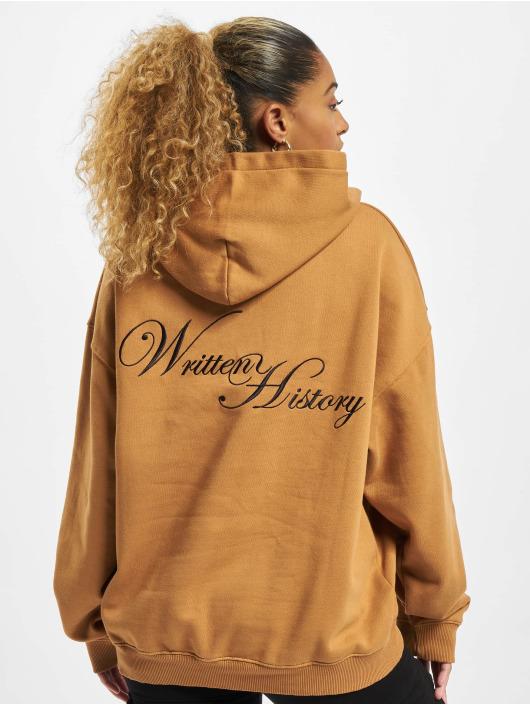 PEGADOR Hoodies Azusa Oversized brun